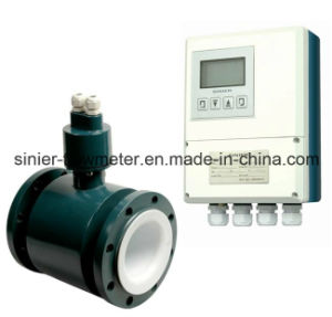 China Hot Selling Smart OEM Magnetic Flow Meter for Water pictures & photos