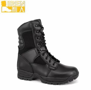 2017 New High Quality Camouflage Fabric Army Desert Boots pictures & photos