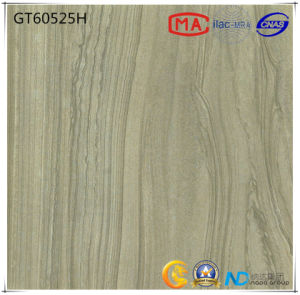 600X600 Building Material Ceramic Dark Grey Absorption Less Than 0.5% Floor Tile (GT60521+60522+60523+60525) with ISO9001 & ISO14000 pictures & photos