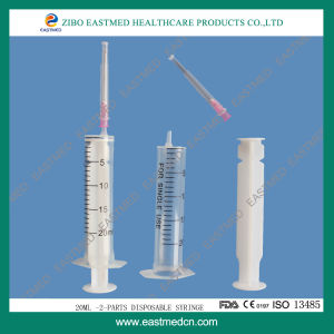 Disposable Sterile Syringe Two-Parts/Three Parts pictures & photos