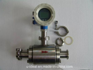 Sanitary Electromagnetic Magnetic Flow Meter for Beer, Liquid, Dairy pictures & photos