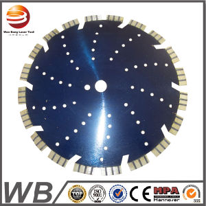 Sliver Welded Turbo Segmented Diamond Saw Blade for Cutting Ceramic pictures & photos