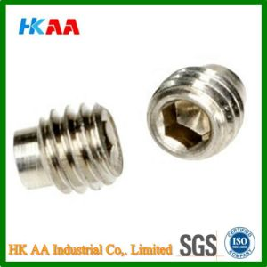 Stainless Steel Dog Point Socket Set Screw (A2 DIN915) pictures & photos