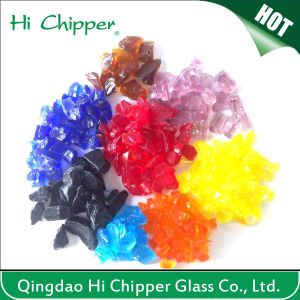 Hi Chipper Terrazzo Color Glass Chips pictures & photos