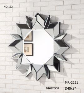 Customized Fashion Decorative Wall Mirror for Living Room & Hotel pictures & photos
