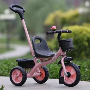 China CE Approved Baby Tricycle Stroller Kids Tricycle Trike pictures & photos