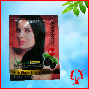 New Natural Hair Black shampoo 20ml/PCS