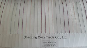 New Popular Project Stripe Organza Voile Sheer Curtain Fabric 008258 pictures & photos