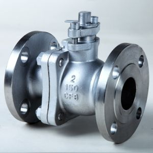 Stainless Steel Precision Casting Lock Float Ball Valve pictures & photos