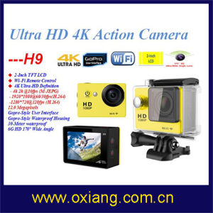 Similar Gopro WiFi Ultraslim Ultra Full HD 4k Sport Action Camera (OX-H9) pictures & photos
