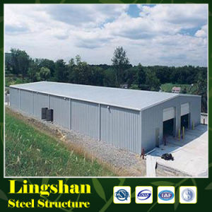 Quick Build Prefabricated Steel Frame Structure Warehouse Hangar pictures & photos