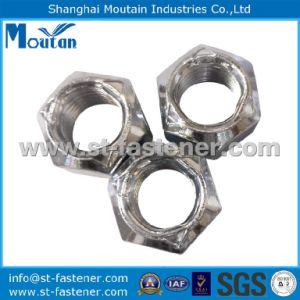 Carbon Steel Zinc Plated Nuts with DIN980V