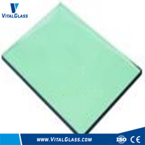 Light Green Glass/French Green Glass/Colored Reflective Glass with Ce&ISO9001 pictures & photos