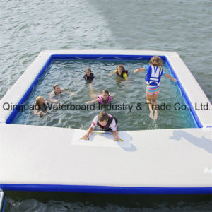 high quality inflatable rectangular swimming pool