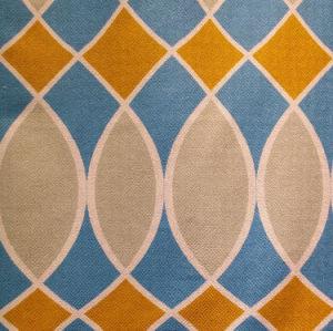 Modern Printed Linen Like Sofa Fabrics