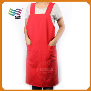 Custom Fabric Printed Disposable PE Kitchen Apron (Jam102) pictures & photos