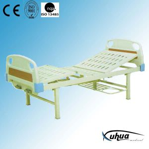 Hospital Furniture, Two Cranks Mechanical Hospital Medical Bed (B-4) pictures & photos