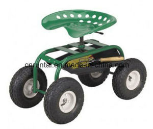 High Quality Garden Meatal Mesh Tary Tool Cart pictures & photos