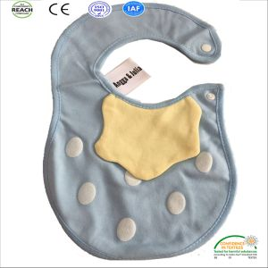 2017 Customized Designs Embroidered Wholesale Cotton Baby Bibs pictures & photos