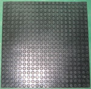PU PVC Silicone TPR Rubber Safety Anti-Slip Safe Mat
