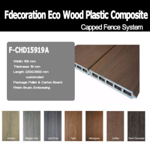 Eco Outdoor Composite Wood Decking WPC Wall Cladding pictures & photos