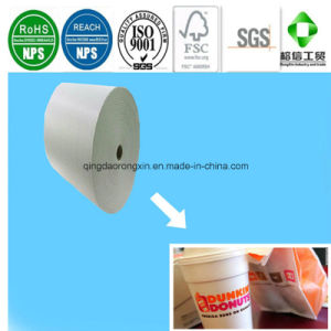 Single/Double Sides PE Coated Doukin Donuts Ice Coffee Cup Paper pictures & photos