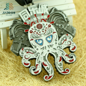 High Qaulity Factory Custom Octopus Sports Metal Medal with Customize Logo pictures & photos