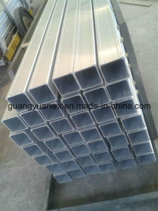 Powder Coated Aluminum Square Tube/Pipes 6063 T5 6061 T6 pictures & photos