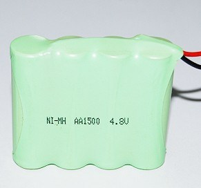 4.8V 1500mAh AA NiMH Battery pictures & photos