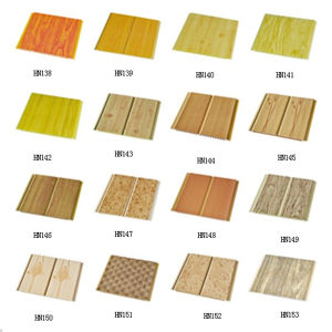 200*5 Mm Wood Colors PVC Ceiling Panel pictures & photos
