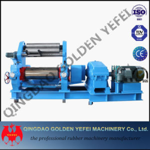Open Two Roll Rubber Mixing Mill Machine (Hardened Reducer) pictures & photos