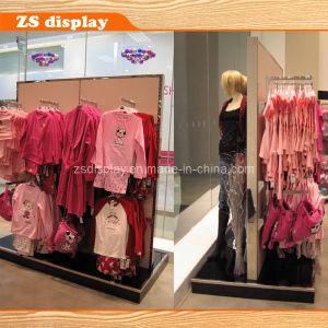 Gondola MDF Board/Wood Wall Kids′ Clothes Display Rack (SC-07)