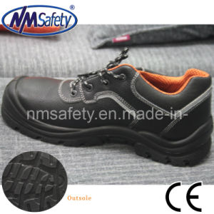 Nmsafety Cow Split Leather Low Cut Fashion Work Shoes pictures & photos