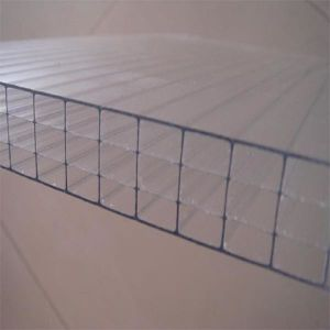 Lexan and Marklong Polycarbonate/PC Hollow Sheet