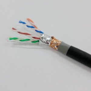 Outdoor Waterproof Cat 6 FTP Shielded Twisted-Pair Cable 25 Year Quality Assurance pictures & photos