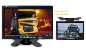 "12V-24V 4pin CCD Reversing 4X Camera & 7"" Split Quad Rear View TFT LCD Monitor pictures & photos"