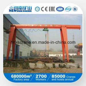 10 Ton Single Girder Cantilever Hoist Gantry Crane Price pictures & photos