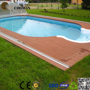Non-Slip Flooring for Backyard Wpc Flooring pictures & photos