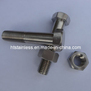 Inconel 600 DIN931 Hex Cap Screws pictures & photos