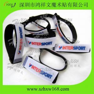30x355mm Inter Sport 100% Nylon Hook & Loop Strap with Plastic Buckle (HXW-C021)