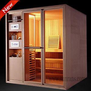 New Design Traditional Home Sauna Portable Sauna Room (SR1I005) pictures & photos