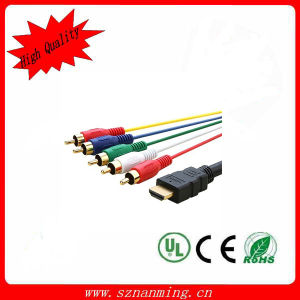High Quality HDMI to RCA Cable with 1.8 V pictures & photos