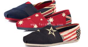 Best Selling Man′s Casual Shoes Canvas Shoes (QQBX 39) pictures & photos