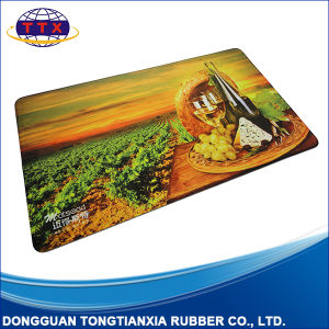 Custom Printing Antislip Washable Nature Rubber Floor Rug pictures & photos