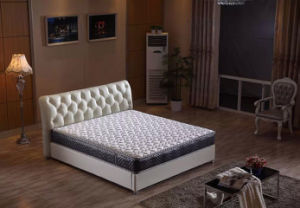 Factory Knitted Fabric Pocket Spring Hotel Cool Mattress (ZRB-807)