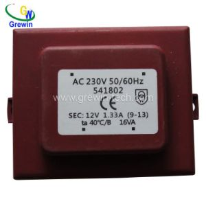 Ei Type Power Supply Encapsulated Transformer with IEC pictures & photos