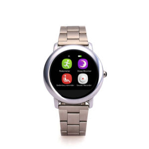 Waterproof 1.22′′touch Screen Android Bluetooth Smart Watch