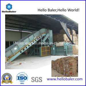 Horizontal Hydraulic Automatic Recycling Machine for Corrugated Paper pictures & photos