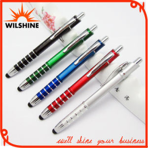 Plastic Square Shape Barrel Stylus Pen for Promotion Gift (IP014) pictures & photos