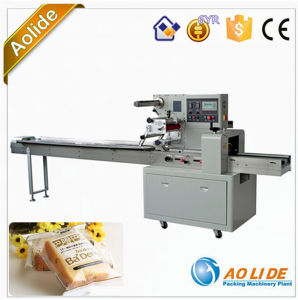 Fully Automatic Horizontal Bread Flow Pack Packing Machine Manufacturer Ald-350b/D pictures & photos